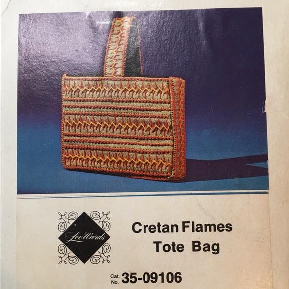 Dexter's Handbags - Crewel Embroidery Kit For Tote Bag